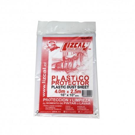 PLASTICO PROTECTOR 4M X 2.5M LIZCAL